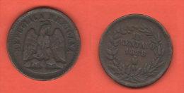 Messico Un Centavo 1888 . M - Messico