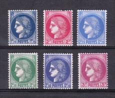YT 372 à 376 NSC (MNH) - Unused Stamps