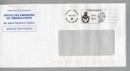 POSTAGE MONACO L´AFFRANCHISSEMENT OFFICIEL CLUB ALPIN MONEGASQUE 2011 - Escalada