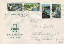DDR / GDR - Mi-Nr 1400/1403 Umschlag Echt Gelaufen / Cover Used (D750) - Lettere
