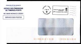 POSTAGE MONACO L´AFFRANCHISSEMENT OFFICIEL PRIX LITTERAIRE FONDATION PRINCE PIERRE - Arte