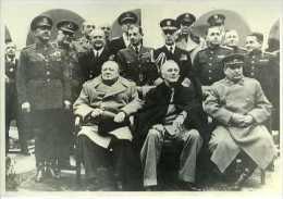 Conférence De Yalta : Churchill, Roosevelt, Staline 1945 - Personnages Historiques