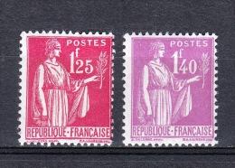 YT 370 Et 371 NSC (MNH) - 1932-39 Peace
