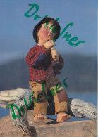 Elli Riehl, Hirtenknab - Flötespielender Junge, Original Puppen Der Puppenwelt In Treffen Bei Villach, Um 1980 - Spielzeug & Spiele