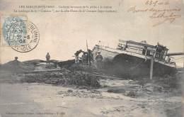"""Les Sables D'Olonne   85    Naufrage De  """"La Croizine""""  Goëlette De Pêche A La Morue - Sables D'Olonne"""