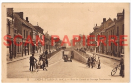 62 Hénin Liétard Rue De Douai Et Passage Souterrain - Henin-Beaumont