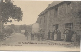 23  -  MAGNAT L'ETRANGE  -  Mercerie , Epicerie , Mme Vve SARCIRON - Francia