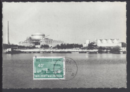 THEMES -  BELGIQUE -  1961 -  MOL - CENTRE D'ETUDE DE L'ENERGIE NUCLEAIRE - REACTEUR BR 2 - ( EDIT. UNIMAX ) - - Industry
