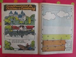 Découpage  à Construire. Construisons Le Château De Combourg . M. Lemainque. 1939 - Vieux Papiers