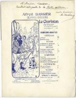 PARTITION ALFRED DASSIER - AUTOGRAPHE - DEDICACE - Opern