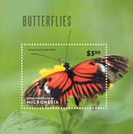 Micronesia-2014-Butterfli Es - Sellos