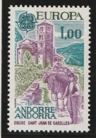 Andorre Français 1977 - Timbres Yvert & Tellier N° 261 Et 262 - Andorre Français