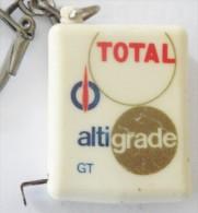 Porte-clefs Keychain Portachiavi Mètre Enrouleur TOTAL - Key-rings