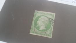LOT 243793 TIMBRE DE  FRANCE OBLITERE N�12 VALEUR 90 EUROS
