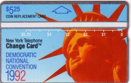 USA NYNEX HOLOGRAPHIQUE LANDIS STATUE LIBERTY LIBERTE NEW YORK N� 205B...MINT NEUF  RARE