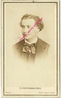 CDV Louis Eugène Garraud 1831-1893- Comédien- Sociétaire Comédie Française- Par Ch. Reutlinger - Old (before 1900)