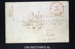 Belgium: Cover Mechelen / Malines To Breda 1850  Wax Sealed - 1830-1849 (Belgique Indépendante)