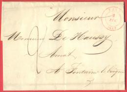 _5i-978: Volledige Brief: FAYT  2 FEV. 1847 > Fontaine-L'Eveque - 1830-1849 (Belgique Indépendante)