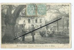 CPA  Décollée - Montmorency - Ermitage - Restaurant Des Ruines De Grétry - Facteur - Montmorency