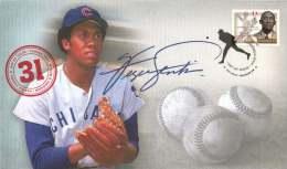 2011   Black History Month Ferguson Jenkins, Baseball Player  Sc 2434  Single - Omslagen Van De Eerste Dagen (FDC)