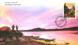 2011   Parks Canada Centennial  Sc 2470  Single From Booklet - Omslagen Van De Eerste Dagen (FDC)