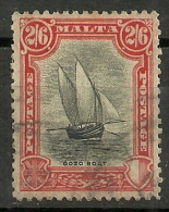 MALTA YVERT 130 VF USED. BOAT, BATEAU, BARCO. - Malta