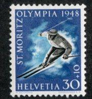 5364 Swiss 1948  Mi.# 495x  *  Scott # B173  (cat. 2.10€) -- Offers Welcome! - Ungebraucht