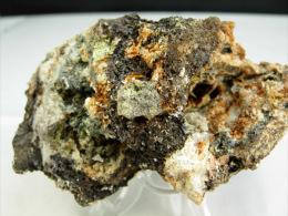 NODULE ALTERE ET CERUSITE  8, X 4,5  CM MAYRES - Minéraux