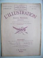 Revue ILLUSTRATION 1916 N° 3836 - Guerre 14/18 - 9 Septembre 1916 - Riviste & Giornali