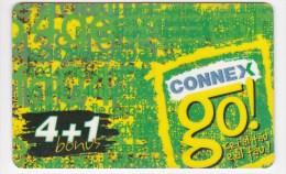 Romania ,  Prepaid Phonecard -  Connex , 4+1 ,  Used - Romania