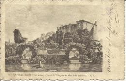 LA FERTE-MILON, Vue Prise Du Coté De La Promenade P. D. PRECURSEUR.SCAN R/V - Chateau Thierry