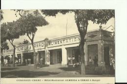 CAR16/A   --   OUBANGUI - CHARI    --   HOTEL - RESTAURANT  ,,  ALMEIDA  &  IRMAO ,,  A BANGUI - Zentralafrik. Republik