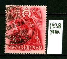 UNGHERIA - MAGYAR POSTA - Year 1938 - Usato - Used. - Hungary