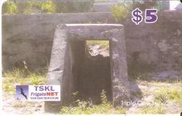 TARJETA DE KIRIBATI DE $5 DE UN REFUGIO (FRIGATE NET) - Kiribati