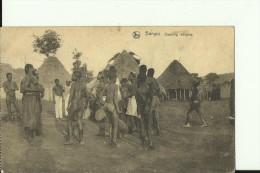 CAR20   --   BANGUI   --  DANCING INDIGENE  --  NUDE - Zentralafrik. Republik