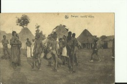 CAR20   --   BANGUI   --  DANCING INDIGENE  --  NUDE - Centraal-Afrikaanse Republiek