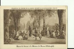 CAR22   --   HEURE DE DETENTE A LA MISSION DE BESSOU  ( OUBANGHI ) - Zentralafrik. Republik