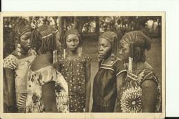 CAR28   --     ( A.E.F. )   --   OUBANGUI - CHARI  ---   FILLES DU SULTAN DE RAFAI  --   GIRLS - Zentralafrik. Republik