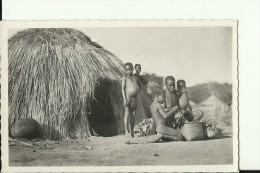 CAR34   --    OUBANGUI  ( A.E.F. )   --   GROUPE NOMADE  --  REAL PHOTO PC - Centraal-Afrikaanse Republiek