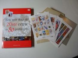Filatelieboek Reis Door De 20ste Eeuw In 80 Postzegels. Inclusief Postzegels Faciaal 33,40Euro. 178 Leervolle Pagina's - Collezioni