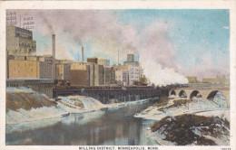 MINNEAPOLIS (Etats-Unis) - Mill District (quartier De La Minoterie) - Carte Privée Ou Publicitaire (voir Photo Verso) - Minneapolis