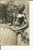 CAR41   --   MOBAYE  ( OUBANGUI - CHARI )  ----   TAM - TAM  --  REAL PHOTO PC - Centraal-Afrikaanse Republiek