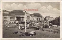 DEUTSCHLAND GERMANY 1938 LEIPZIG HAUPTBAHNHOF RAILWAY STATION Aa005 - Leipzig