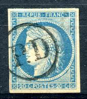 COLON. GEN. 1871 - Yv.12 (Mi.11, Sc.11) Used (PD) Large Margins (perfect) Signed - Cérès