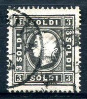 LOMBARDY-VENETIA 1858 Perf.15 - Yv.11 (Mi.7II, Sc.8) Perfect (rare Quality) - Lombardo-Venetien