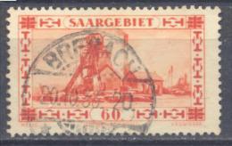 Sarre YT N°140 Puits De Mine Oblitéré ° - Gebruikt