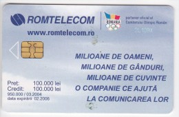 Romania ,  Phonecard  , 2004 ,  Used - Romania