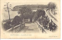 "MONACO - MONTE CARLO -=-=- CPA -=-  Les Jardins Du Casino   -=-=-     "" Précuseur "" - Le Terrazze"