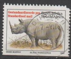 N° 813 A O Y&T  1993 Rhinocéros (Black Rhinoceros) - Used Stamps