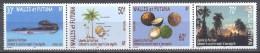 Wallis Et Futuna YT N°605/608 Légende Du Pacifique (bande Se-tenant) Neuf ** - Wallis And Futuna